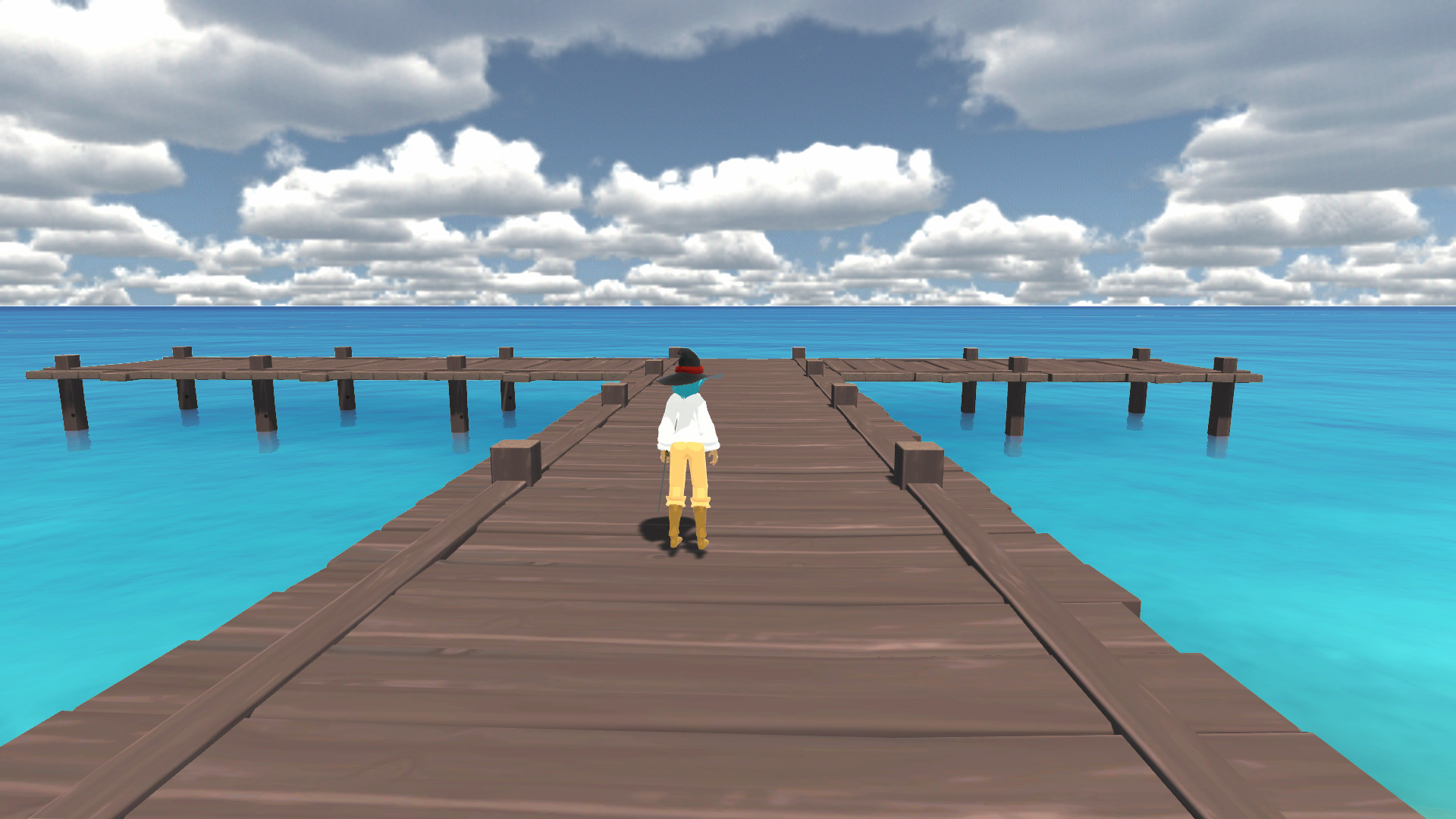 A rather serene dock.